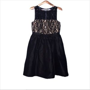 JS Boutique 12 Black/gold cocktail dress